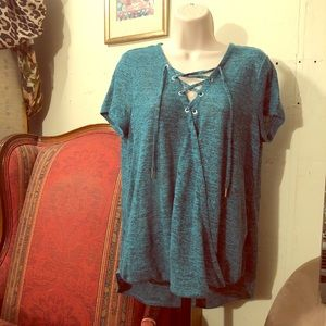 ❇️🌀TEAL JUICY COUTURE BLOUSE